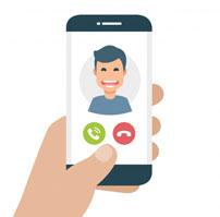 Comunicação em mídias que seu paciente já usa e conhece. Sem a necessidade de instalar novos APPS
