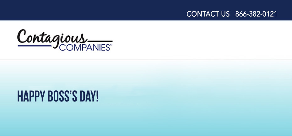 Contagious Companies has Boss's Day Cards