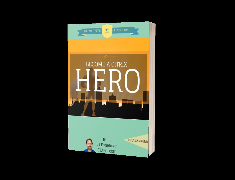 e-Book Cover for Become a Citrix Hero