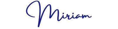 Miriam handwriting