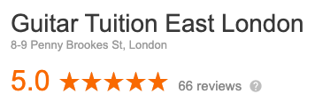 Our 5 star reviews on google