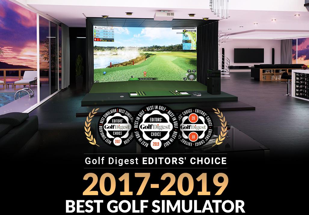 Golfzon wins Golf Digest Editors' Choice 2017-2019