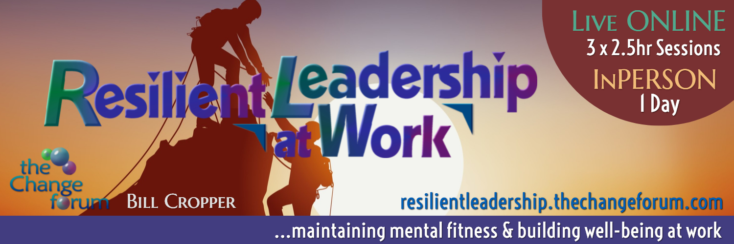 Resilient Leadership at Work