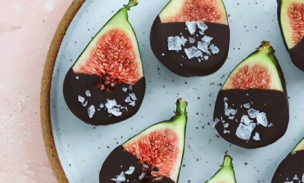 EpicLuv - Chocolate Dipped Figs with Flaky Sea Salt