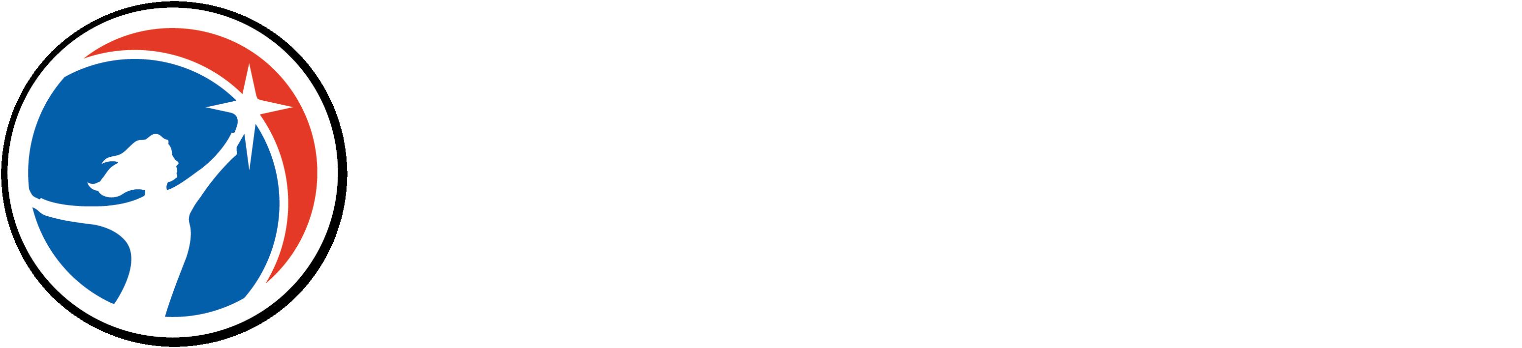 American Heritage Girls 25th Anniversary Logo Vertical Full Color