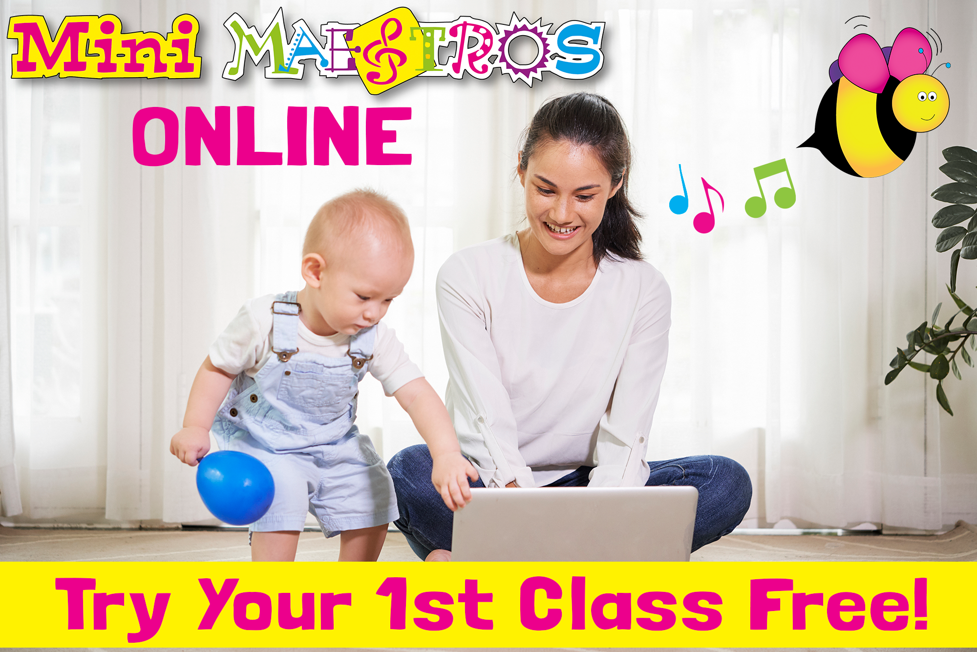 Try your 1st class free!