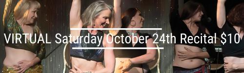 VIRTUAL Saturday October 24th