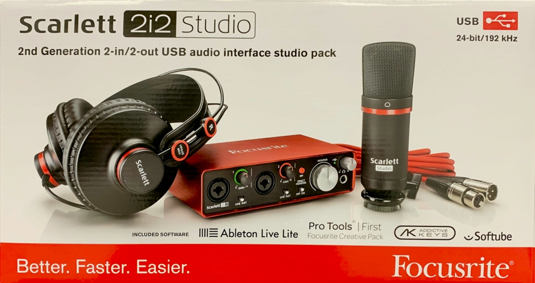 Thanks to Focusrite
