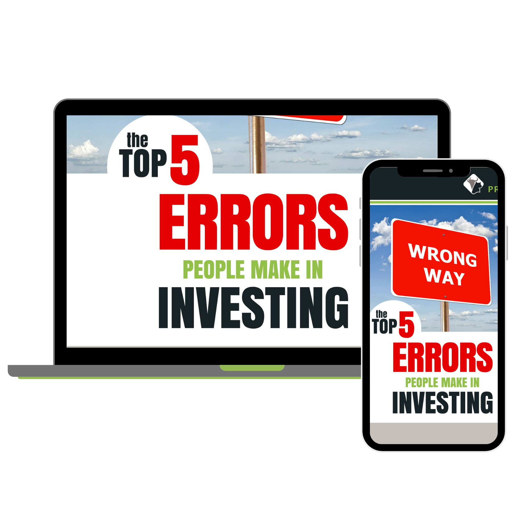 Top 5 Errors in Investing