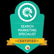 Search Marketing Specialist   Certified Digital Marketing Professional   Digital Marketer