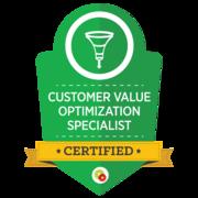 Customer Value Optimization Specialist   Certified Digital Marketing Professional   Digital Marketer