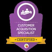Customer Aquisition Specialist   Certified Digital Marketing Professional   Digital Marketer