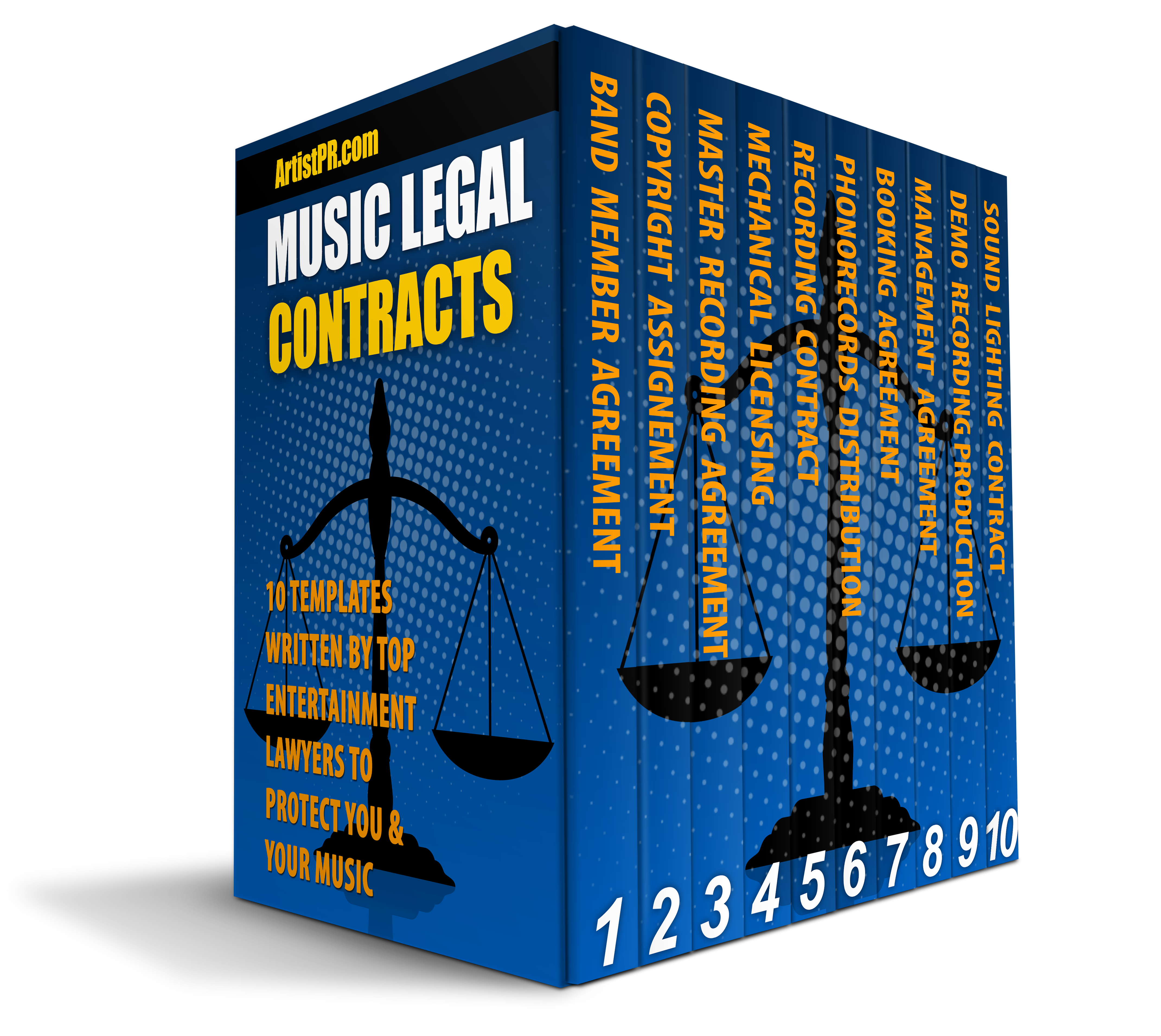 Music Legal Contracts - Over 100 Templates