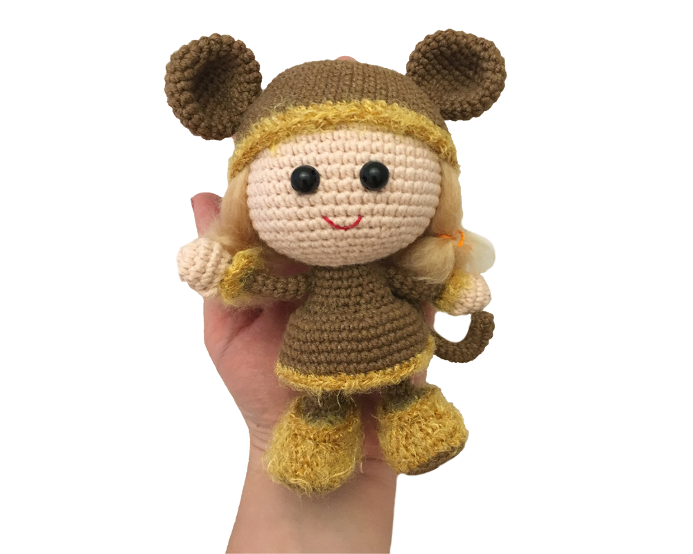Panther crochet pattern