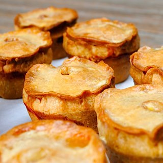 Whole sale pies in the Peak District