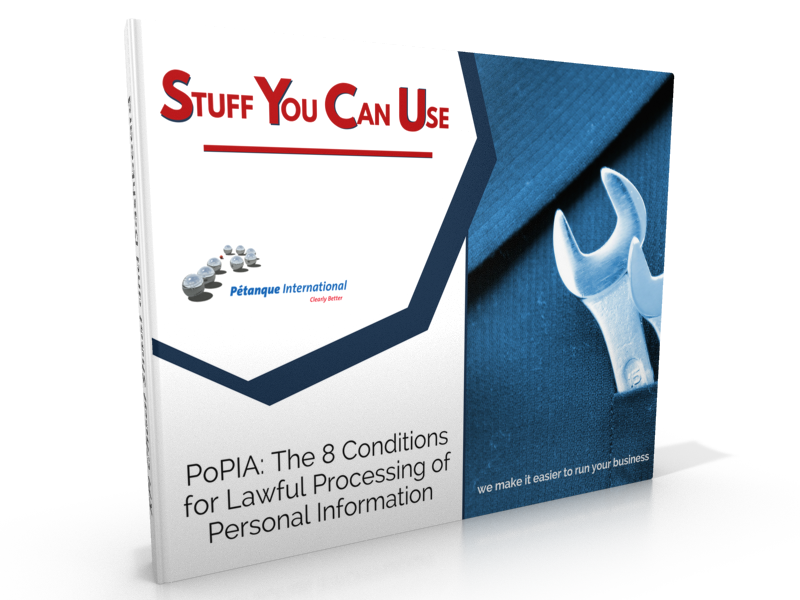 PoPIA: The 8 Conditions for Lawful Processing of Personal Information