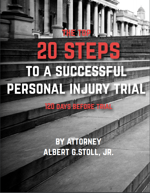 20 steps to a successful personal injury trial