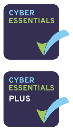 Cyber Essentials and Cyber Essentials Plus Logos