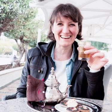 Irina Leoni Tea in Morroco