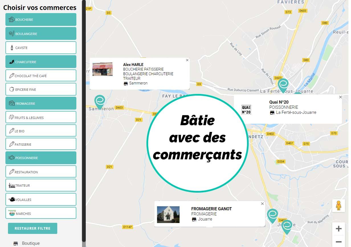 Boutique en ligne pour les commerçants _ boucher_charcutier_primeur-boulanger_poissonnier_fromager