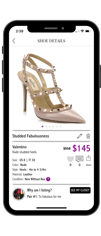 Luxury Shoe Club App Download