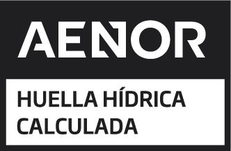 Sello AENOR Huella hídrica calculada