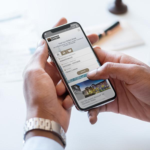 B2B Hajj and Umrah Booking Software, Connect Umrah