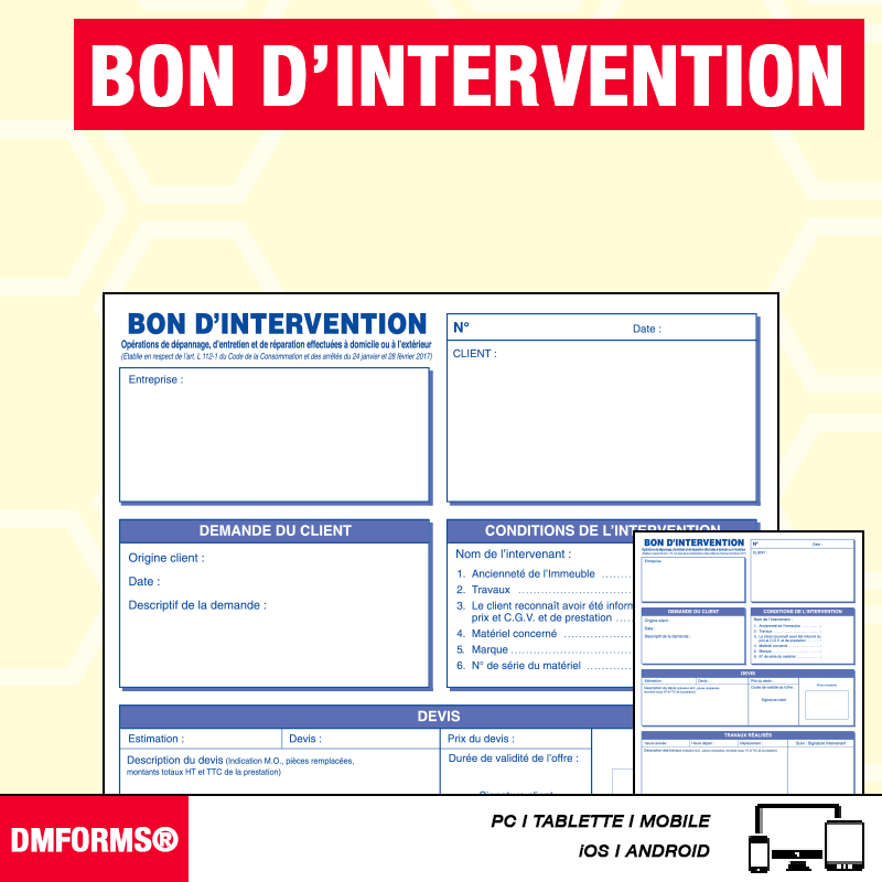 Bon d'Intervention