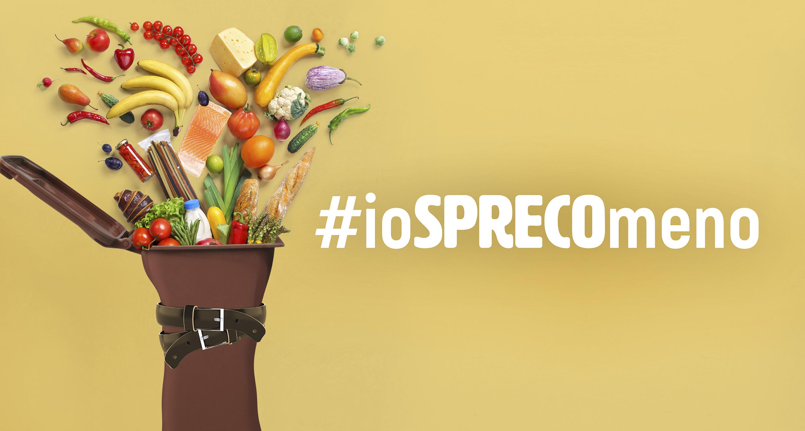 Immagine della campagna di sensibilizzazione contro lo spreco alimentare