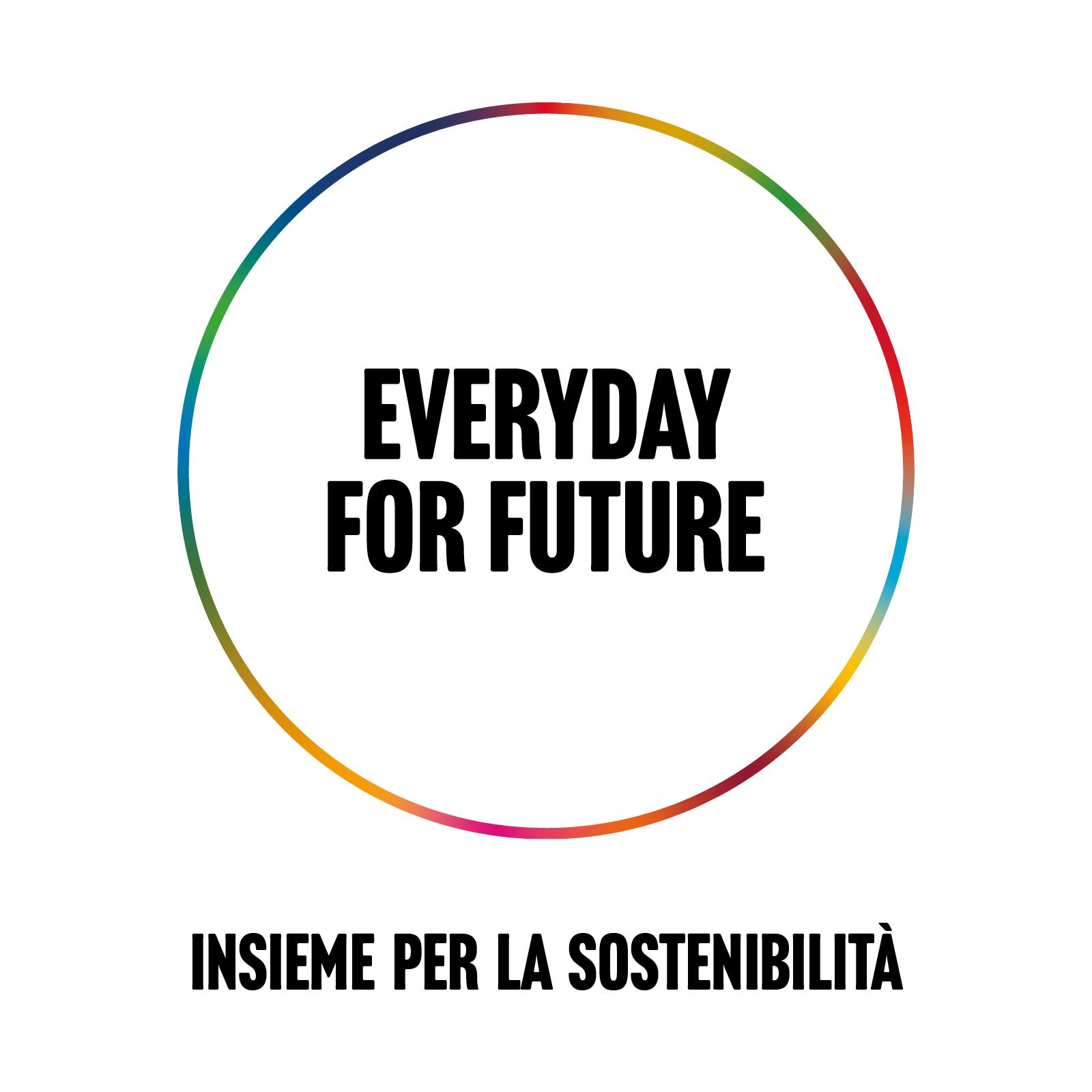 Label Everyday for future - insieme per la sostenibilità