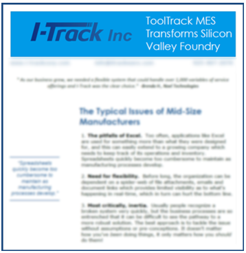 ToolTrack MES Case Study