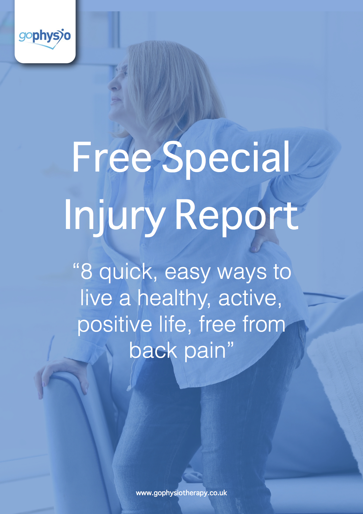 Free Special Injury Report - Back Pain