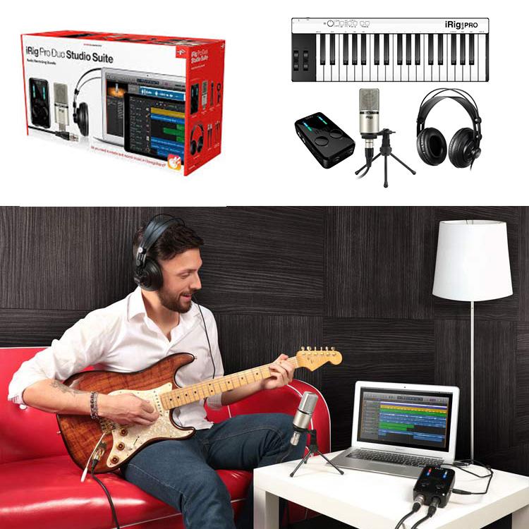 IK MultiMedia iRig Pro Duo Studio Deluxe