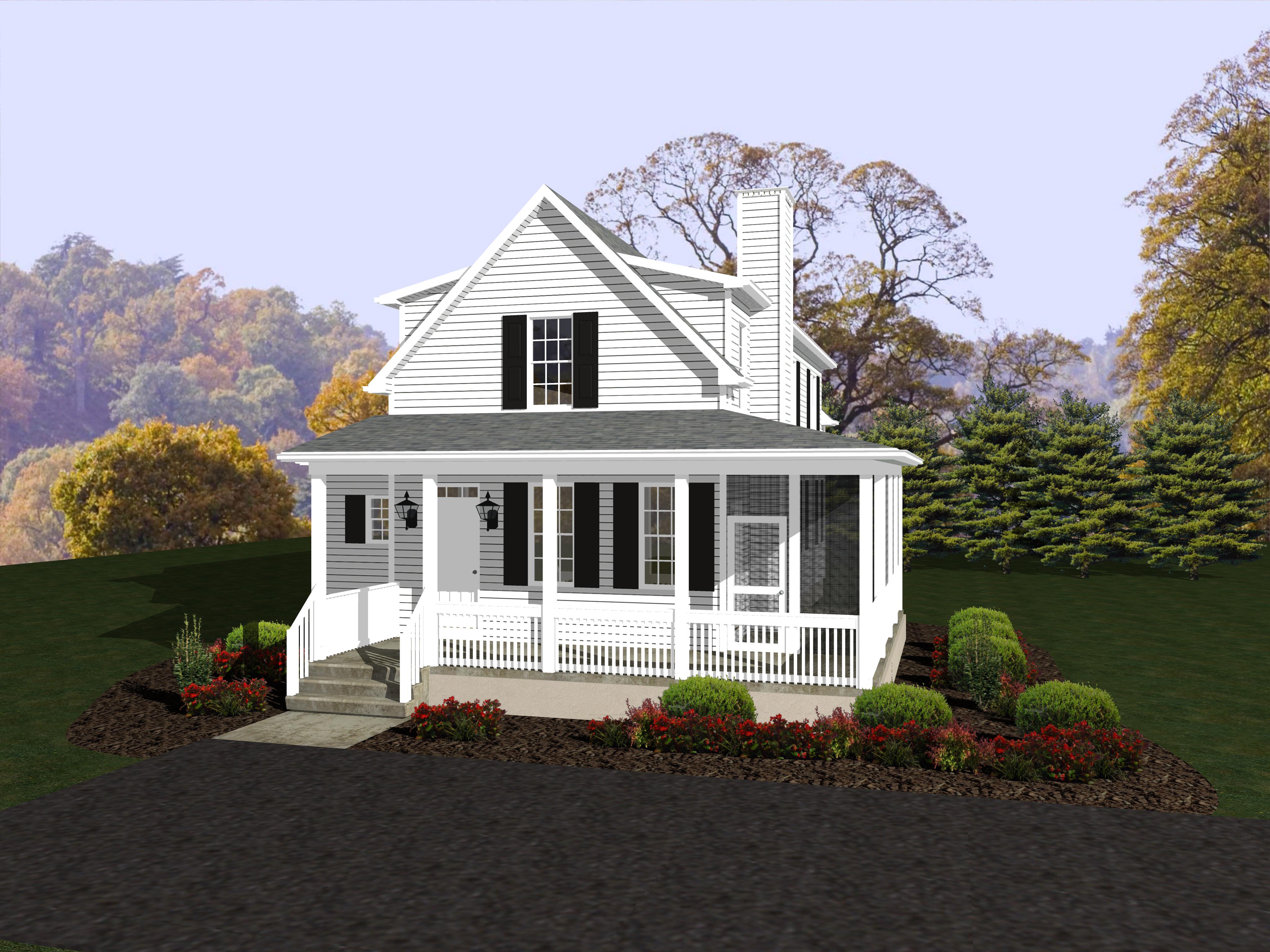 Beracah Homes Crisfield Model