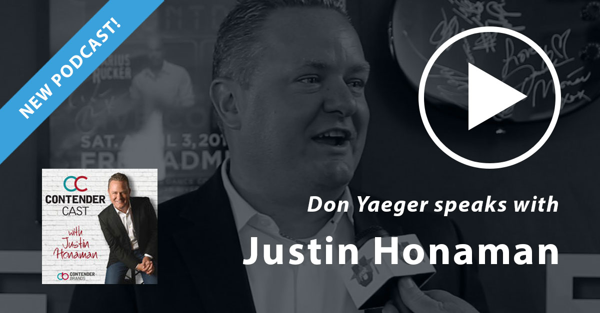 Don Yaeger speaks with Justin Honoman