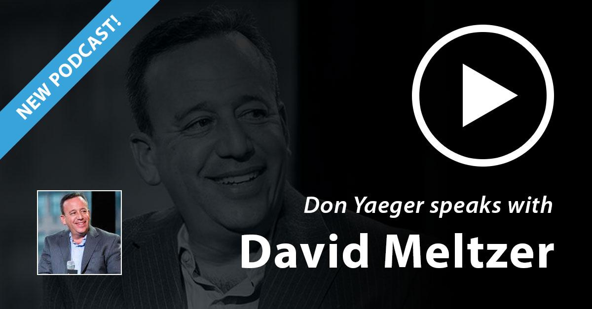 Don Yaeger speaks with David Meltzer