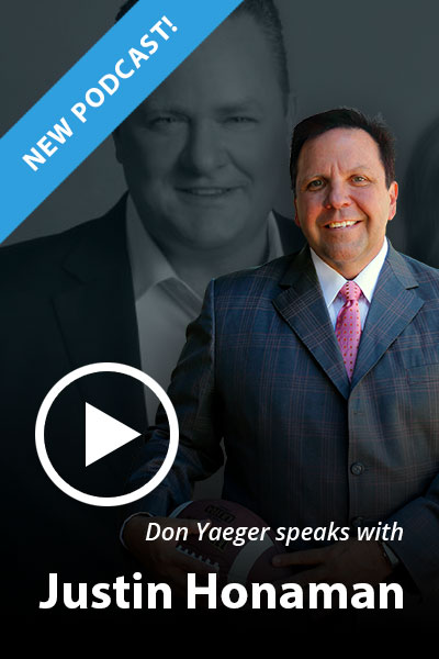 Don Yaeger Speaks With Justin Honaman
