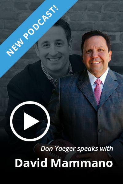 Don Yaeger speaks with David Mammano