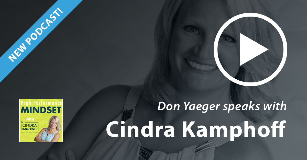 Don Yaeger speaks with Cindra Kamphoff