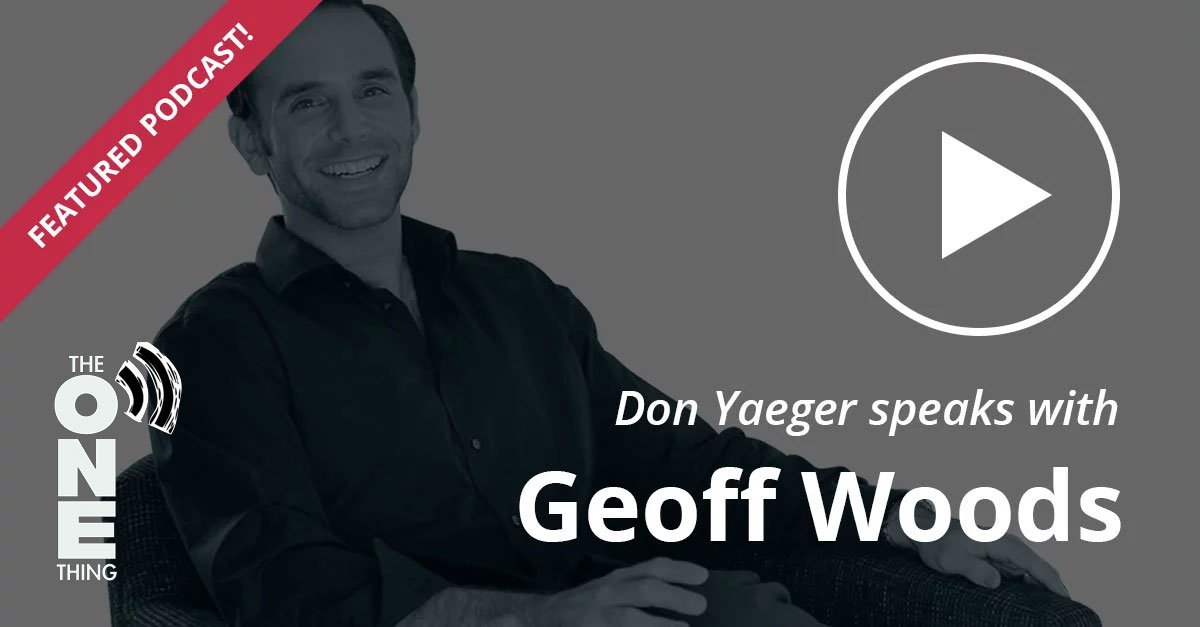 Don Yaeger speaks with Geoff Woods