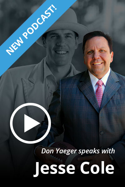 Don Yaeger speaks with Jesse Cole