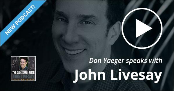 Don Yaeger Speaks With John Livesay