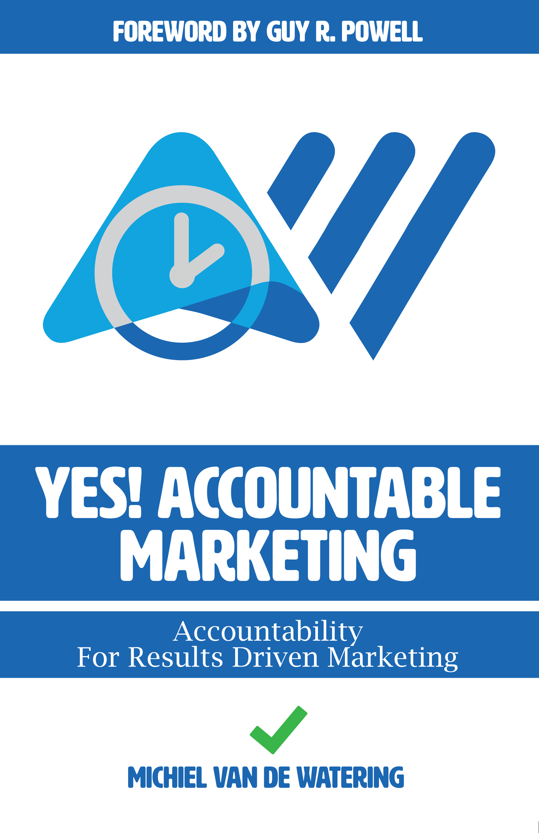 Book cover YES! Accountable Marketing